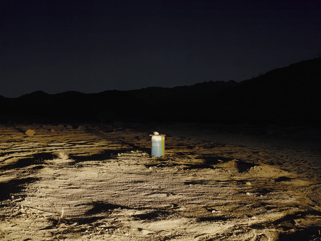 , 'Water Station at Night, Near Ocotillo, California,' 2014, Amon Carter Museum of American Art