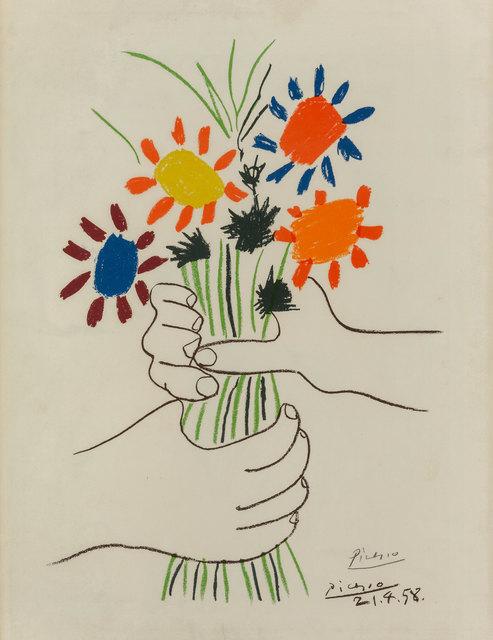 Pablo Picasso, 'Bouquet of peace', ArtRite