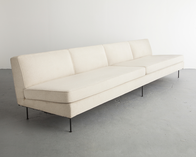 , 'Custom upholstered four-seat sofa,' ca. 1949, R & Company