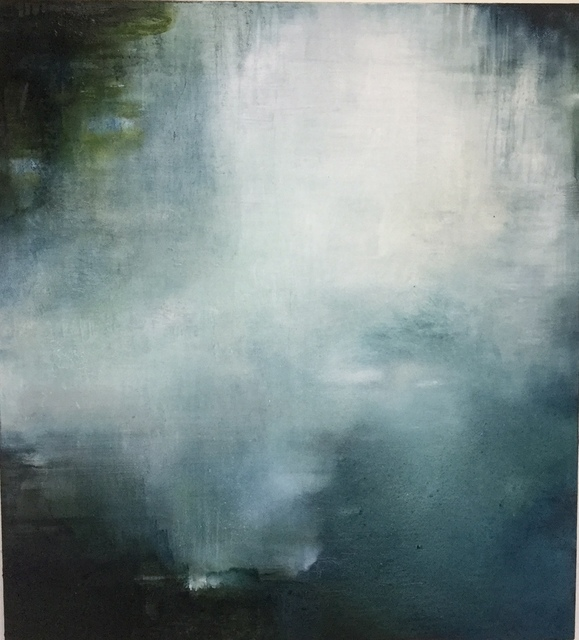 , 'For one ecstatic moment a river holds fast the light,' 2019, Jill George Gallery