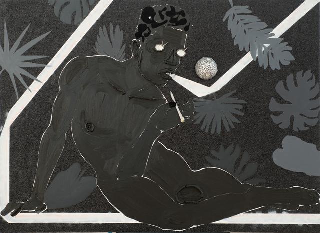 , 'Adjusting to the Luminous Black,' 2015, Samuel Freeman