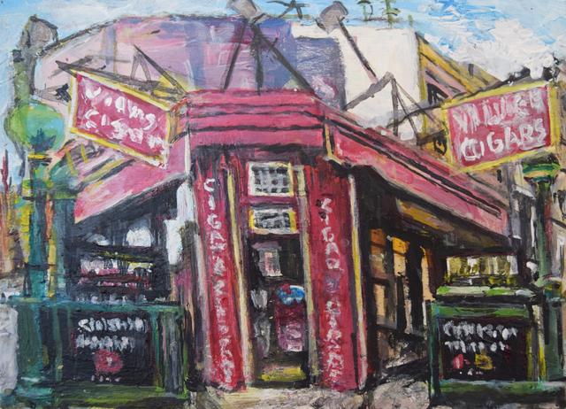 , 'Village Street Scene, Christopher Street,' 2018, Fountain House Gallery