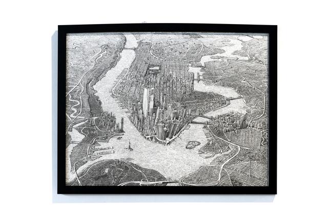 , 'New York City  II,' 2018, GALERÍA ETHRA