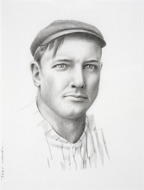 , 'Portrait Christy Mathewson,' , Dowling Walsh