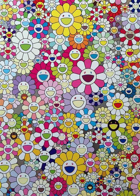 Takashi Murakami, 'An Homage to Yves Klein, Multicolour', 2012, Hang-Up Gallery