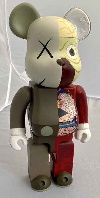 KAWS, 'KAWS Bearbrick Set of 3 (KAWS Be@rbrick 400% dissected companions)', 2008-2010, Sculpture, Cast Resin, Lot 180