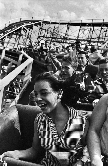 , 'Screaming on The Cyclone, Coney Island,' 1952, PDNB Gallery
