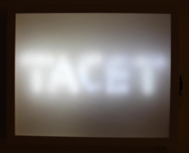 Ulla Rauter, 'Tacet - Stillemelder', 2012, Mario Mauroner Contemporary Art Salzburg-Vienna