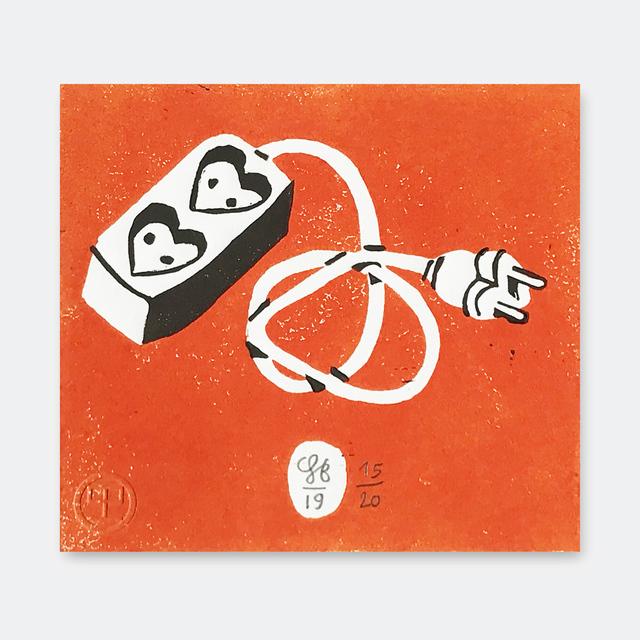 Soeren Behncke, 'Love Extension Orange Version', 2019, V1 Gallery