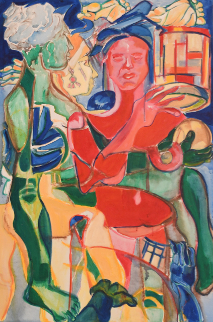 , 'Classical or Perhaps Classic Woman,' 1998, Pleiades Gallery