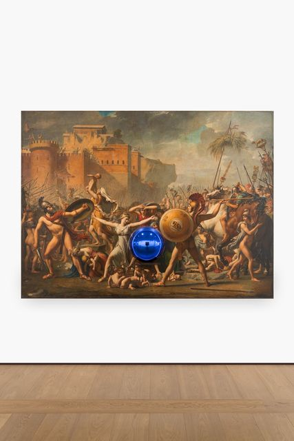 , 'Gazing Ball (David Intervention of the Sabine Women),' 2016, Almine Rech