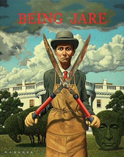 , 'Being Jare (with apologies to Chauncy Gardnier),' 2017, ShockBoxx