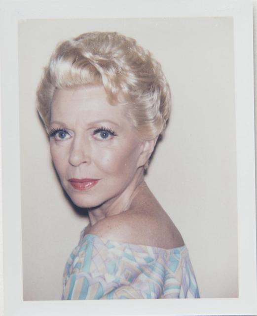 Andy Warhol, 'Andy Warhol, Polaroid Photograph of Lana Turner, 1985', 1985, Hedges Projects