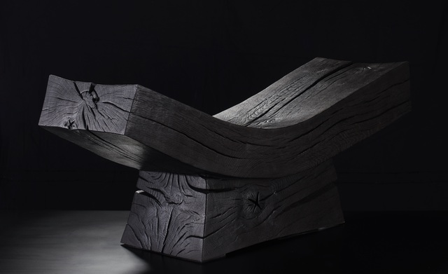 Jim Partridge & Liz Walmsley, 'Scorched Bench', 2019, Sarah Myerscough Gallery