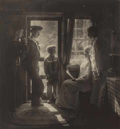 Sunshine in the House (Clarence H. White and family)