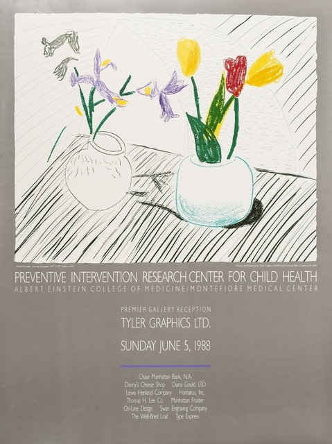 After David Hockney, 'A poster for Tyler Graphics', 1988, Forum Auctions