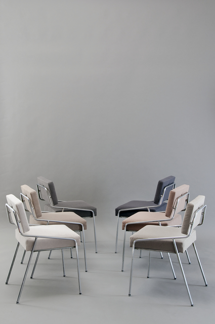 , 'Set of 6 chairs 159 Edition Meubles TV,' 1953, Galerie Pascal Cuisinier