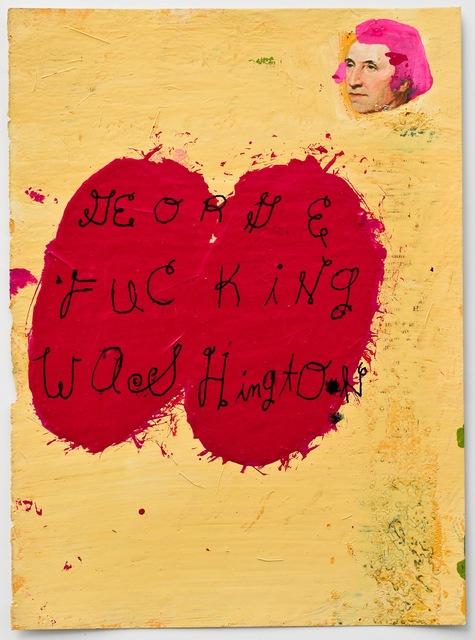 , 'George Washington,' 2013, Coagula Curatorial