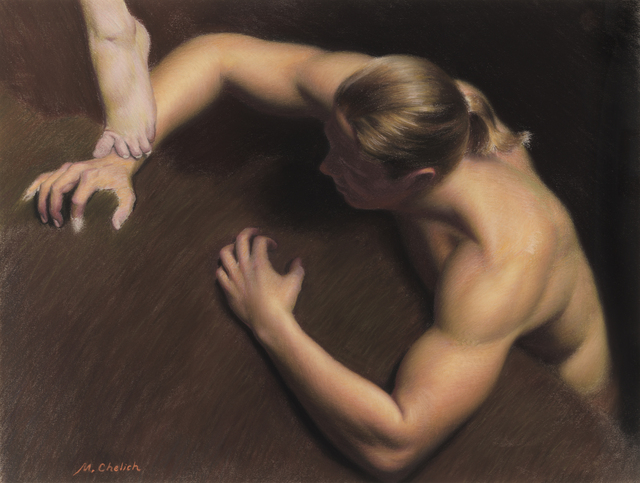 , 'Male Study,' 2016, Gallery Victor Armendariz