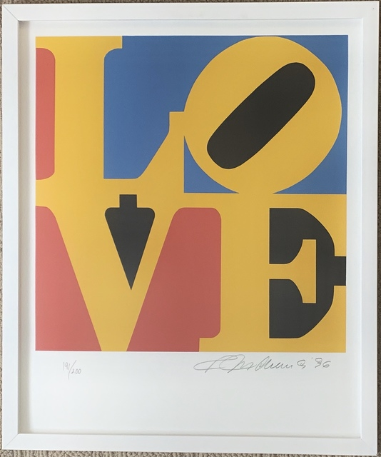 Robert Indiana, 'LOVE (Red Yellow Blue)', 1996, Puccio Fine Art