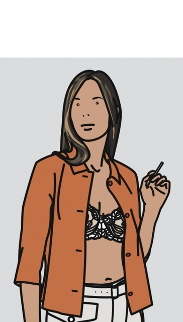 , 'Ruth Smoking 1,' , Rhodes
