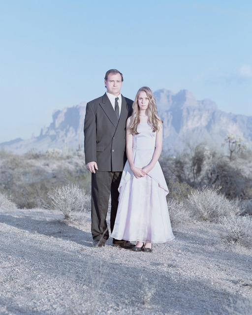 , 'Jim Roberts & Chantal Roberts, 12 years. Apache Junction, Arizona.,' , Pictura Gallery