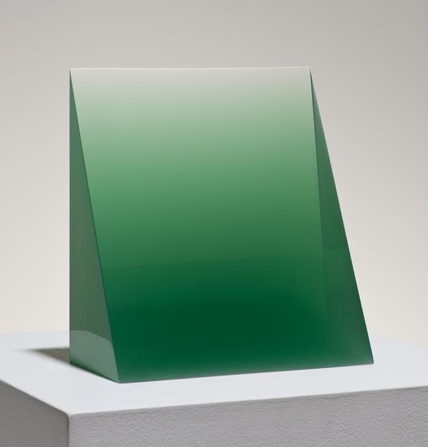 , '10/8/14 (Green Wedge),' 2014, Peter Blake Gallery