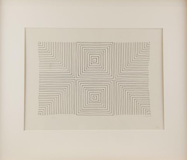 , 'Carrés concentriques,' 1958, ONIRIS - Florent Paumelle