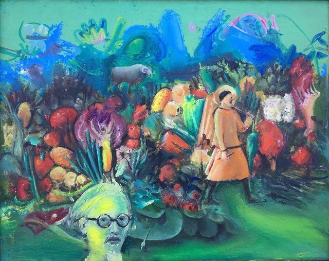 , 'Self-Portrait in Imaginary Landscape,' 2018, Robert Kananaj Gallery