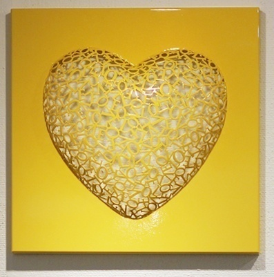 , 'Love-Love (Yellow),' 2015, BLANK SPACE