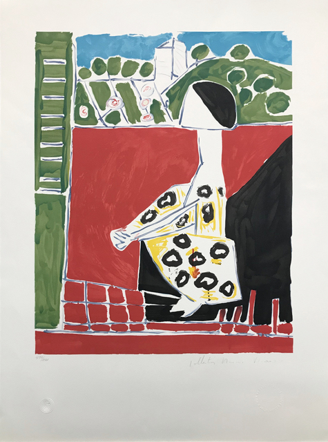 Pablo Picasso, 'FEMME ACCROUPI', 1979-1982, Reproduction, LITHOGRAPH ON ARCHES PAPER, Gallery Art