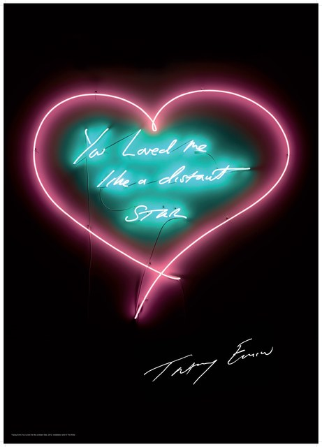 Tracey Emin, 'You Love Me Like A Distant Star', 2016, Lougher Contemporary: The Second Edition