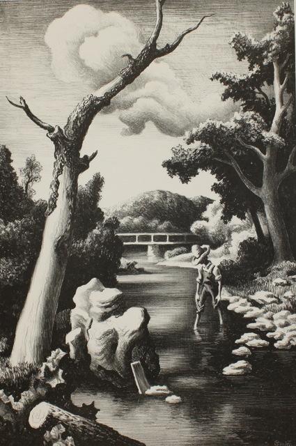 Thomas Hart Benton, 'Shallow Creek', 1939, Aaron Galleries