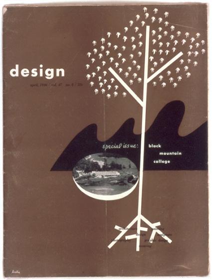 Alvin Lustig, 'Cover for Design Magazine, April 1946', 1946, Black Mountain College Museum and Arts Center
