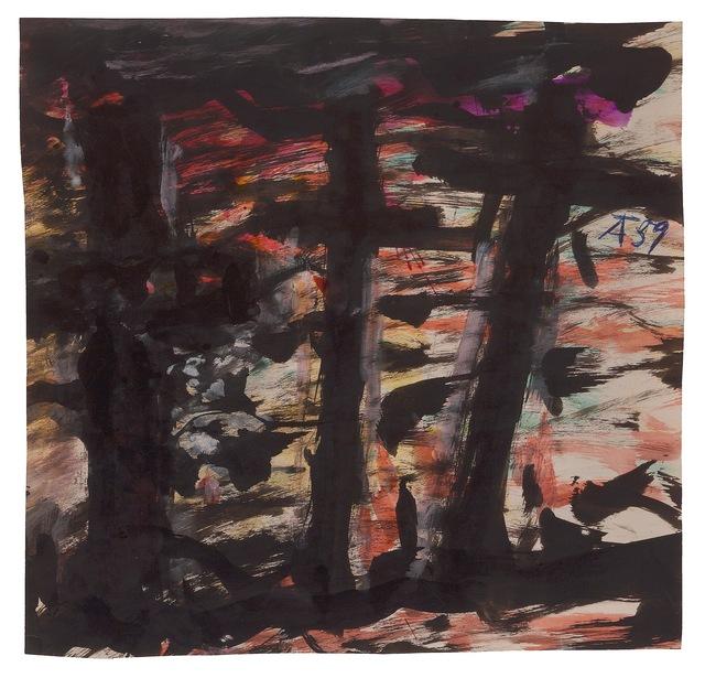 , 'Three Crosses,' ca. 1959, New York Studio School