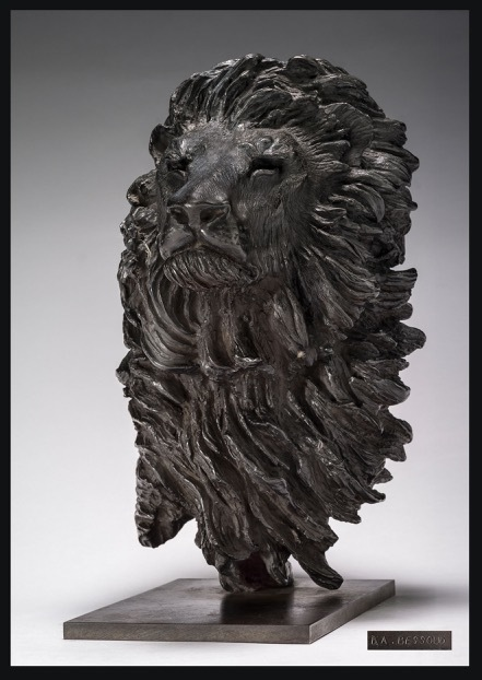 , 'Tête de Lion,' ca. 2010, Galerie de Souzy