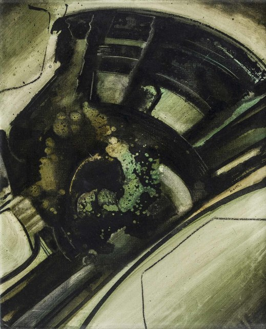 Gianni Bertini, 'Cadmos ubriaco', 1957, Painting, Oil on canvas, ArtRite