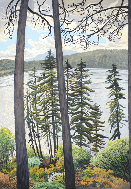 , 'Storm Over Fallen Leaf Lake,' , Stremmel Gallery