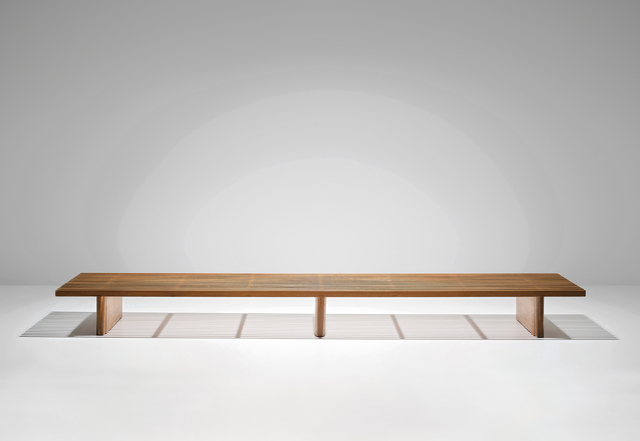 Charlotte Perriand, 'Large 'Tokyo' bench', circa 1956, Phillips