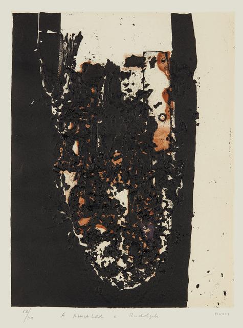 Alberto Burri, 'Combustione', 1963-1964, Phillips