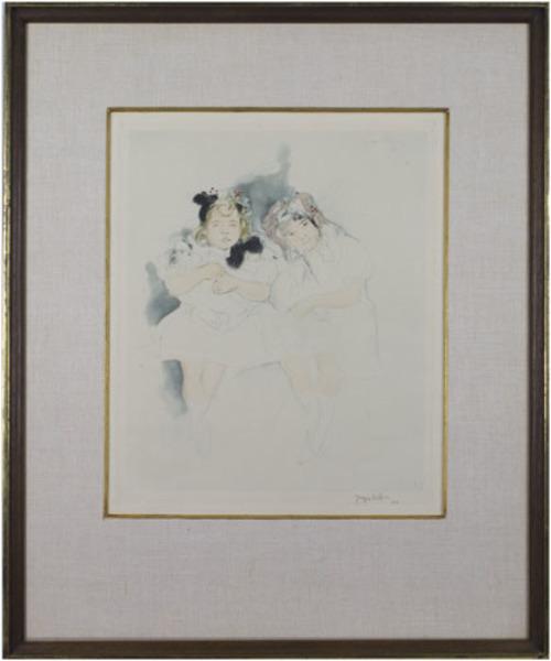 , 'Mes Petites Amies (Catalogue Raisonne E101 pg 66-67 Ginestet & Pouillon),' 1904, David Barnett Gallery