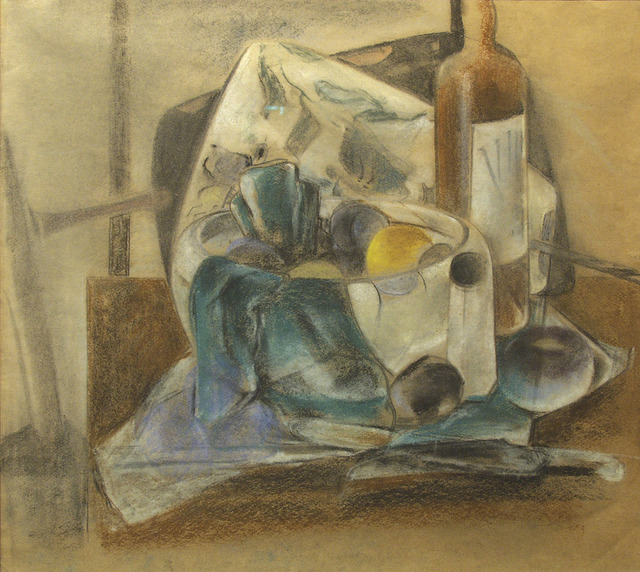 , 'Still Life, Fruit and Wine,' 1926-1927, Forum Gallery