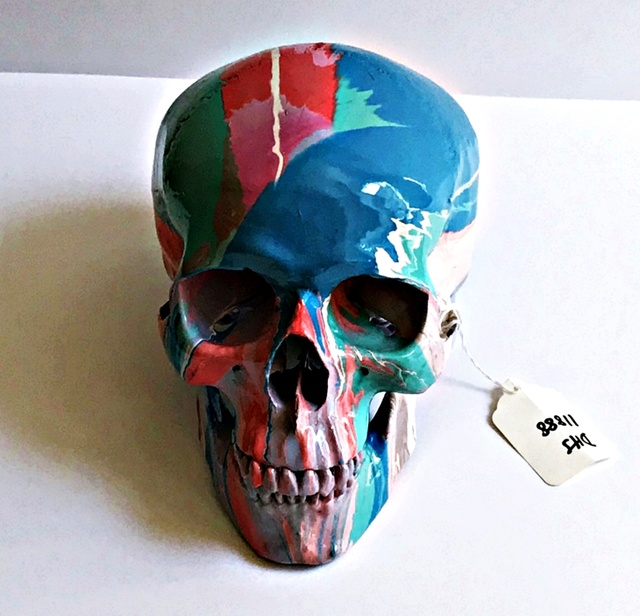 Damien Hirst, 'Skull (Hand signed with authentication letter, artist's tag and museum provenance)', 2010, Alpha 137 Gallery