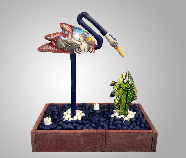 , 'Phishing,' 2014, Abmeyer + Wood Fine Art
