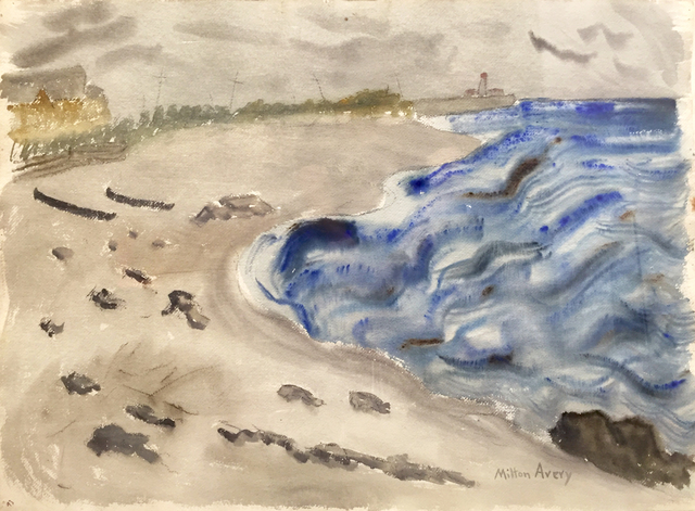 Milton Avery, 'Incoming Tide', 1936, Yares Art