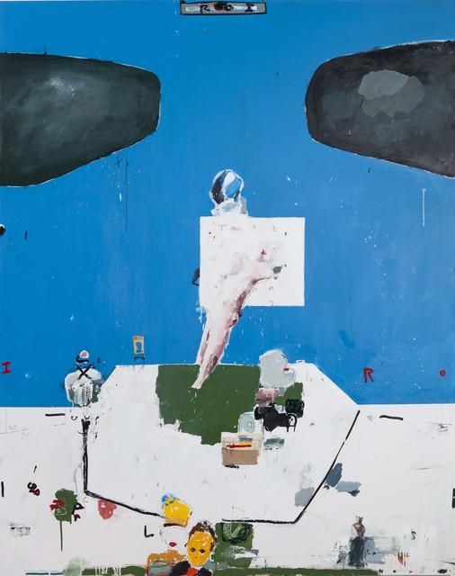 , 'Roi (Blue) ,' 2019, GNYP Gallery