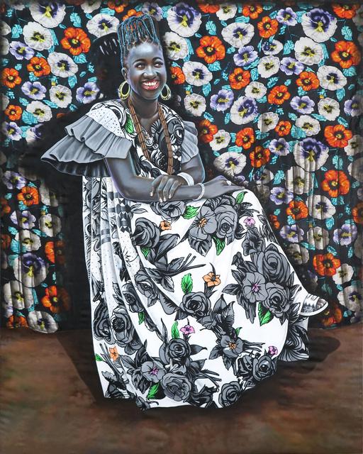 Jean-Paul Mika, 'Bonzenga ya muasi (La beauté d'une femme)', 2017, Magnin-A