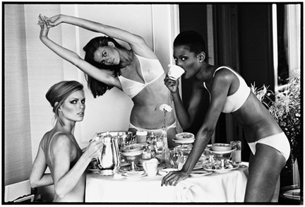 , 'Patti Hansen, Lisa Taylor, and Beverly Johnson, San Francisco,' 1976, Staley-Wise Gallery