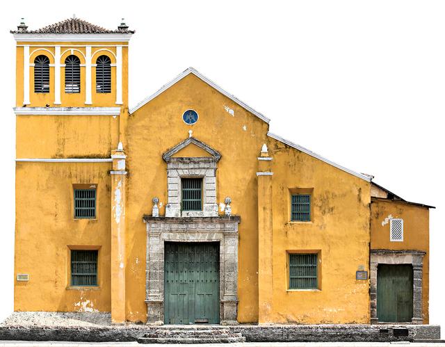 Antonio Castañeda, 'Iglesia de la Santisima Trinidad, color archival pigment print, panoramic', 2017, The Art Design Project