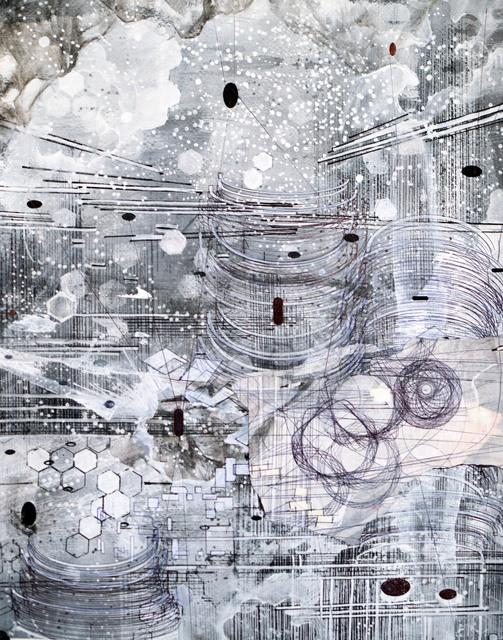 , 'Post Digital Landscape 2,' 2018, ArtHelix Gallery